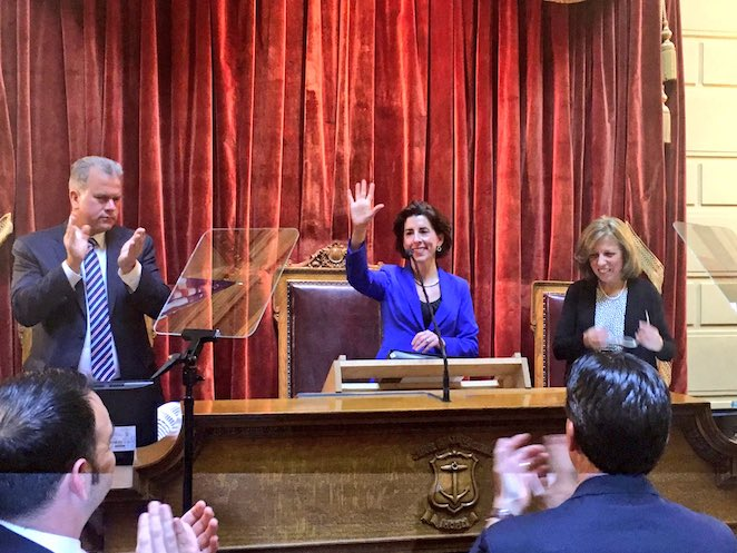Rhode Island governor to deliver State of the State speech