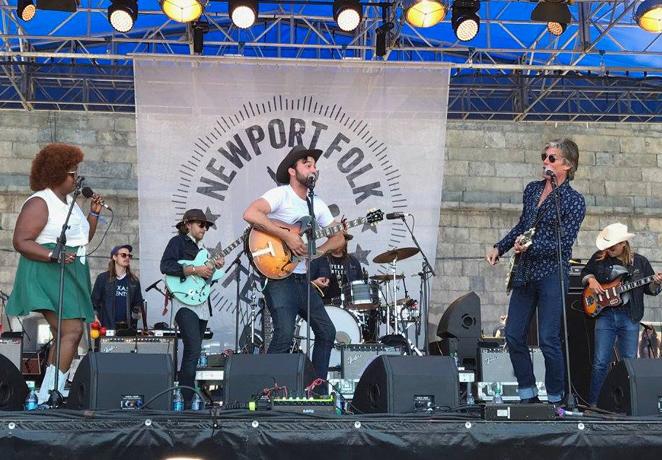 Newport Folk Festival wraps up after 3 days of genre-defying music