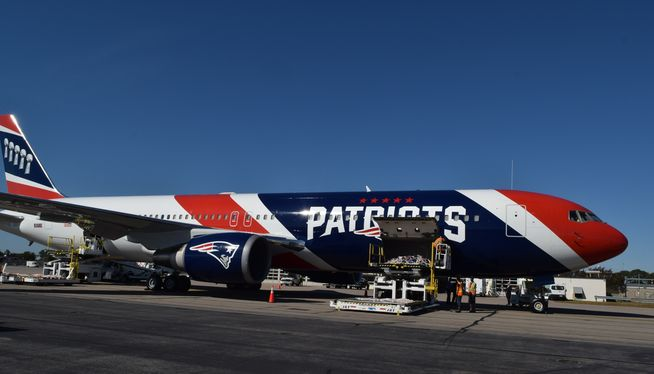 Patriots plane ferries critical masks from China to US