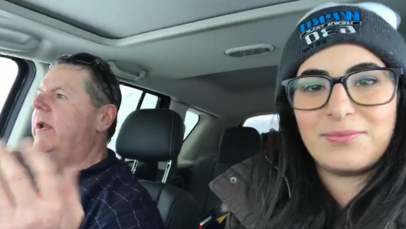 VIDEO: Dan Yorke Ride Along During Winter Storm Commute