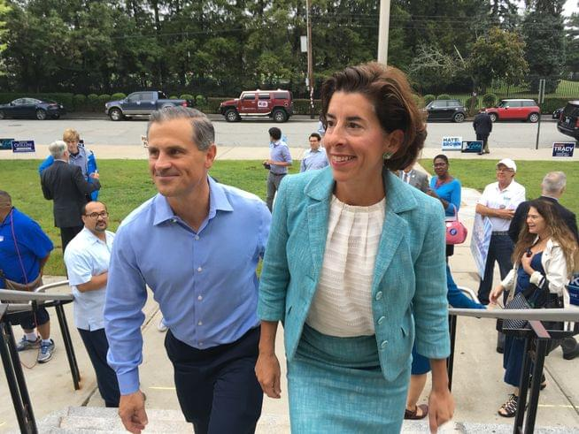 Gov. Raimondo wins 2nd term in Rhode Island