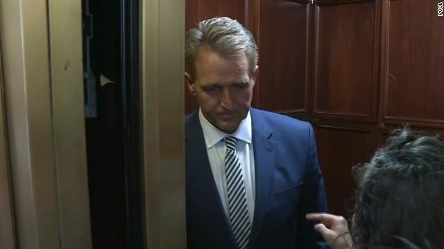 Mayor, senator join call for Flake to reject Kavanaugh