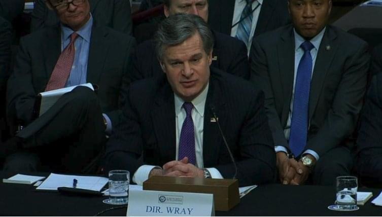 FBI chief says 'usual process' followed in Kavanaugh probe