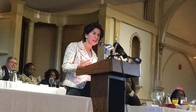 Raimondo no student hungry at Ministers Alliance