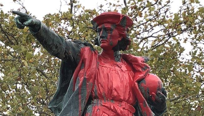 Providence mayor orders removal of controversial Columbus statue