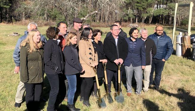 Groundbreaking for newest RI solar project