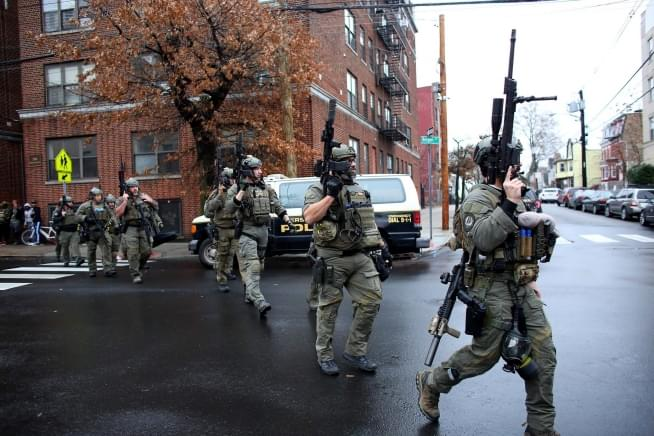 Jersey City attack began with 'targeted' shooting at kosher market, officials say