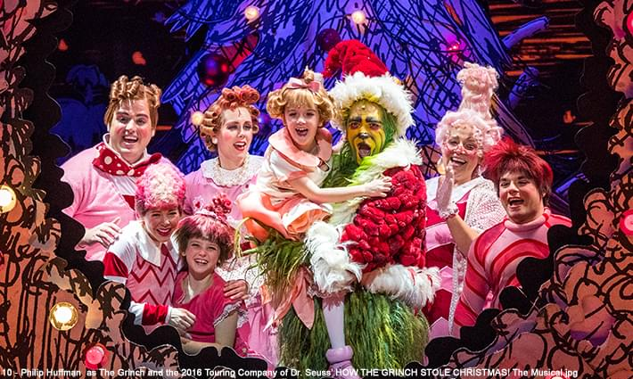 The Grinch is Larger than Life at PPAC