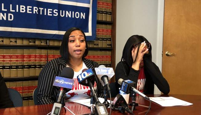ACLU sues city over arrest of 13-year-old girl