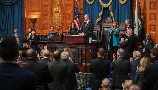 Gov. Baker outlines goals in State of Commonwealth address