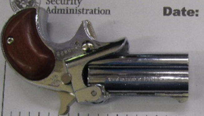 Loaded handgun seized at T.F. Green Airport checkpoint