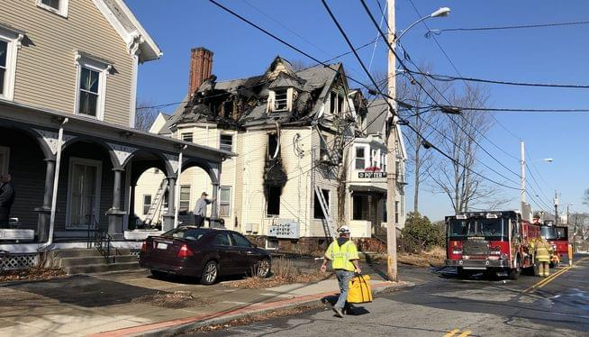 Deadly fire in a multi-family home