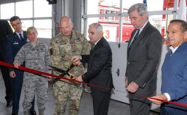 RI Air National Guard fire department facility opens