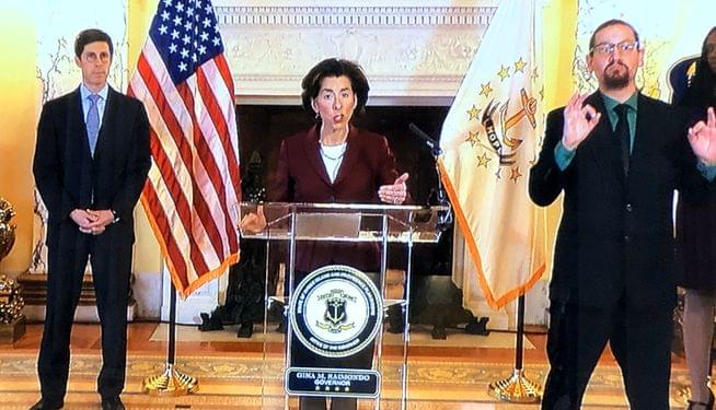 Raimondo: Primary postponed; plane travelers must self-quarantine