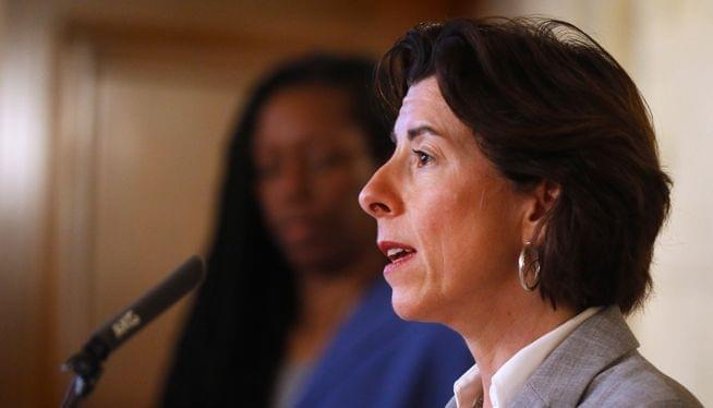 Raimondo says state still on target for May 9 restart