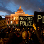 US heads into a new week shaken by protests, violence and pandemic