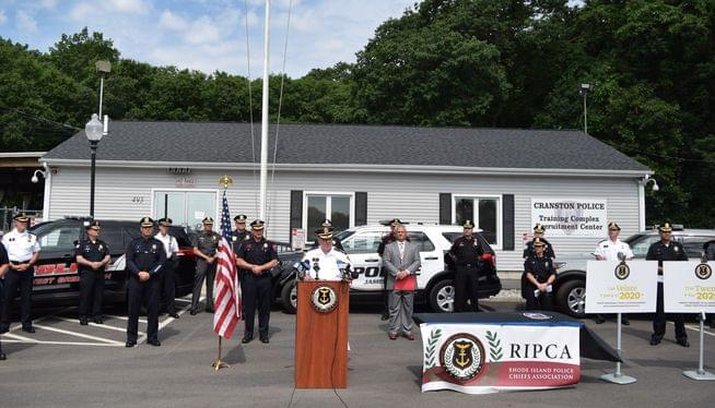 Rhode Island police chiefs pledge commitment to reform