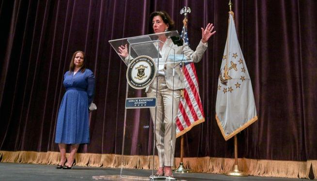 Rhode Island setting up virus testing system for schools