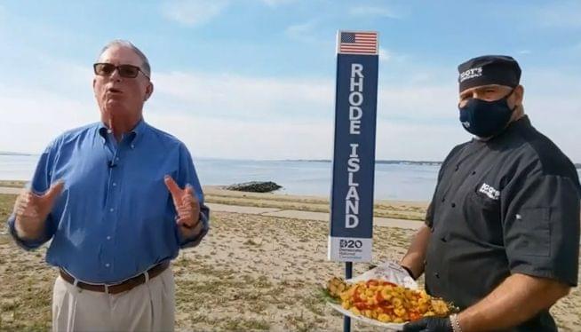 'Calamari comeback': Tiniest state's DNC video gets big buzz