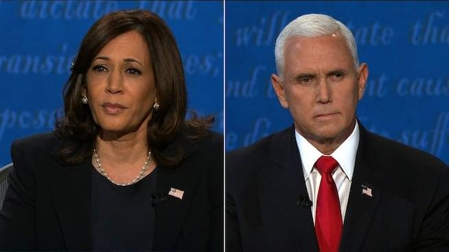 Pence, Harris spar over COVID-19 in vice presidential debate