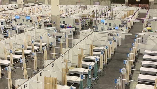 Rhode Island sends alert: hospitals reach COVID-19 capacity