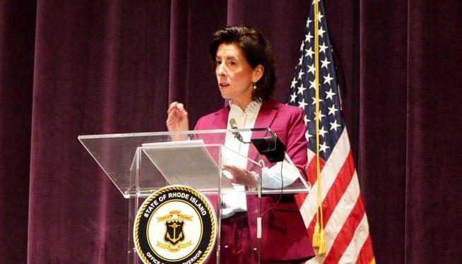 Raimondo extends restrictions, pledges more testing