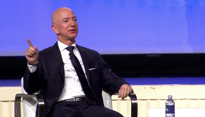 Jeff Bezos, Amazon's founder, will step down as CEO