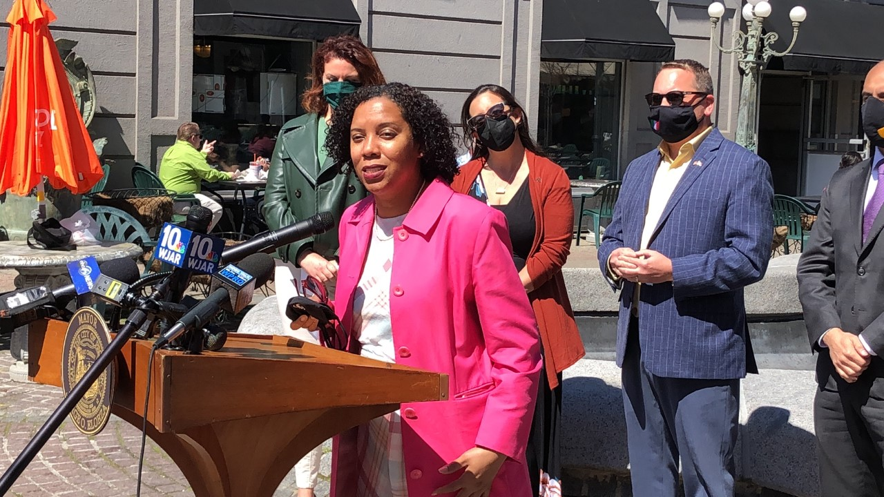 Lt. Gov. – designee Matos in one of her last city appearances