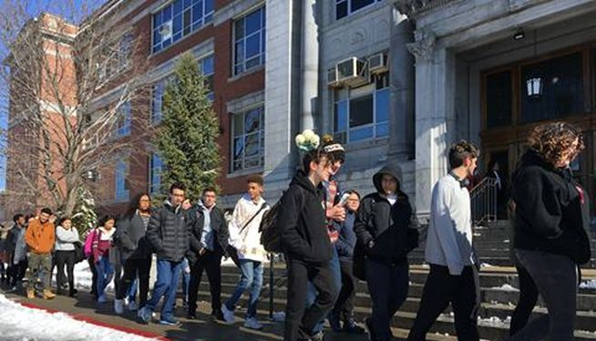 Rhode Island high schools host student vaccine clinics