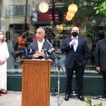 Mayor, restaurateurs proclaim downtown is back
