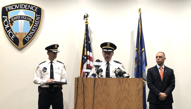 4 charged in Rhode Island shooting that injured 9