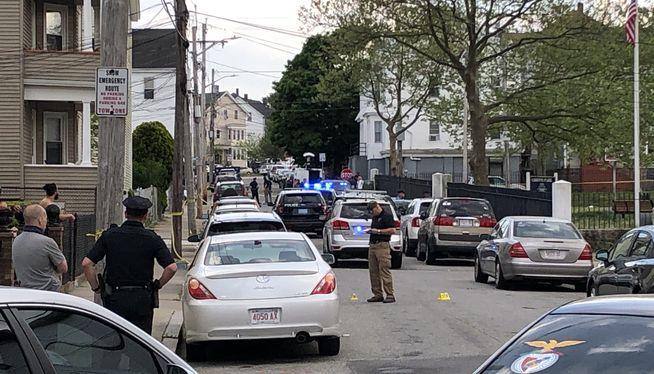 Triple shooting leaves two men dead