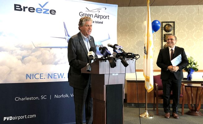 Startup Breeze Airways says it will begin flying in late May