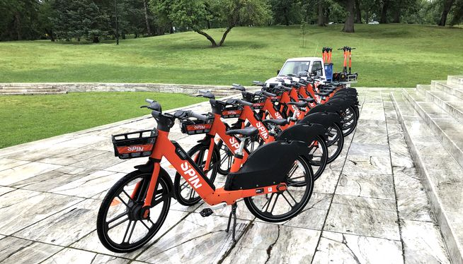 Scooters, e-bikes return to Providence