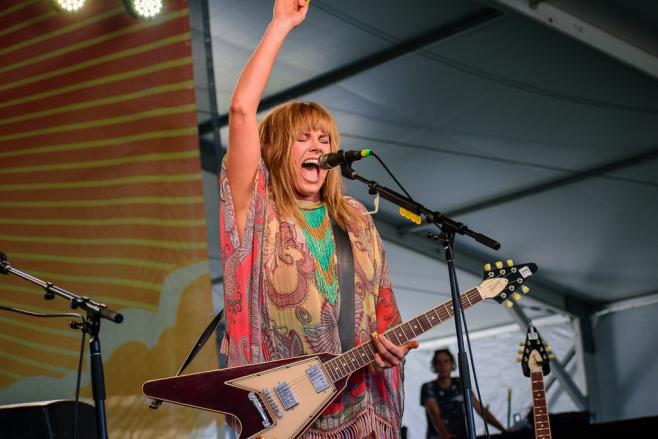 "Newport Folk Festival ""Folks On"" after a year away"