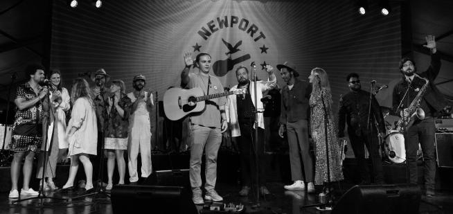 Music did return to Newport