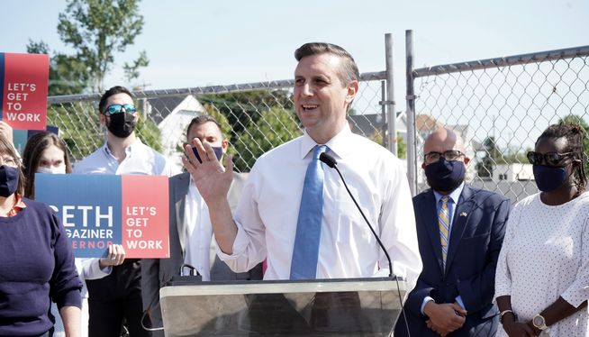 Rhode Island Treasurer Magaziner announces run for governor
