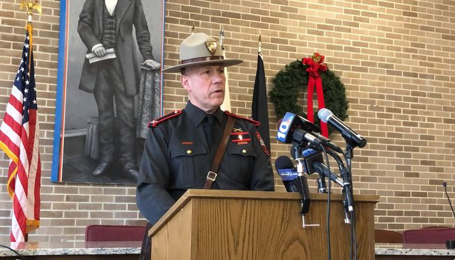 Head of the State Police recounts near-death wasp encounter
