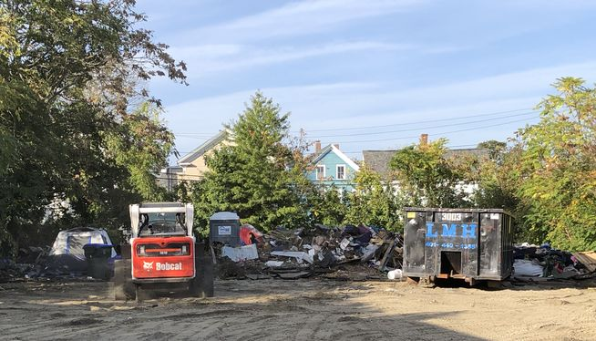 Providence orders residents of homeless camp to vacate site