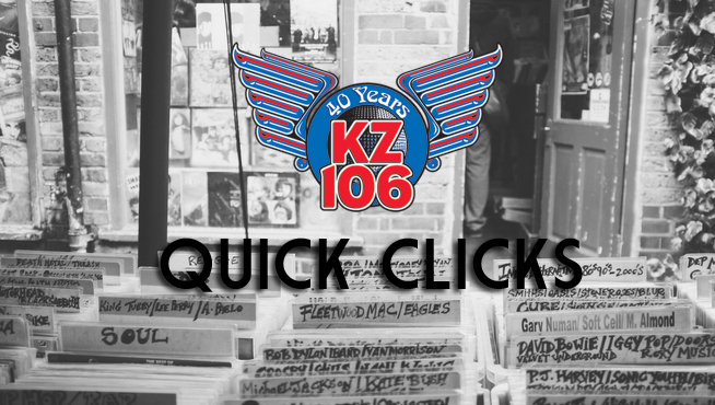KZ106 QUICK CLICKS Music News: 1/30/18