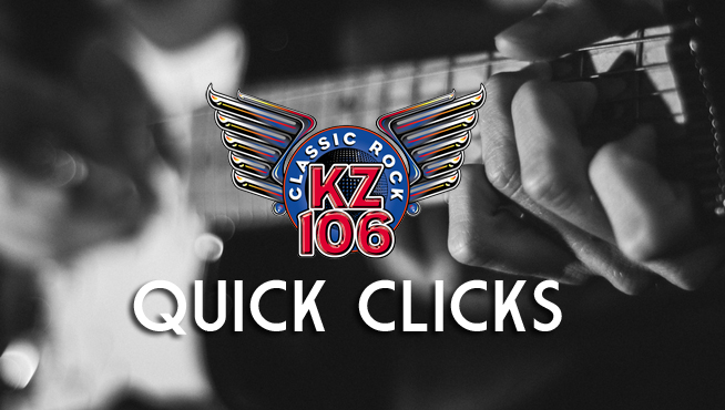 KZ106 QUICK CLICKS Music News: 1/15/18