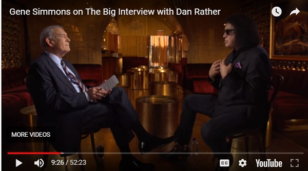 Gene Simmons on The Big Interview