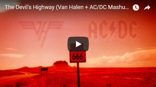 Greatest Mashup Ever? Van Halen With AC/DC!