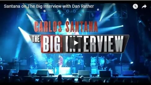 Santana on The Big Interview