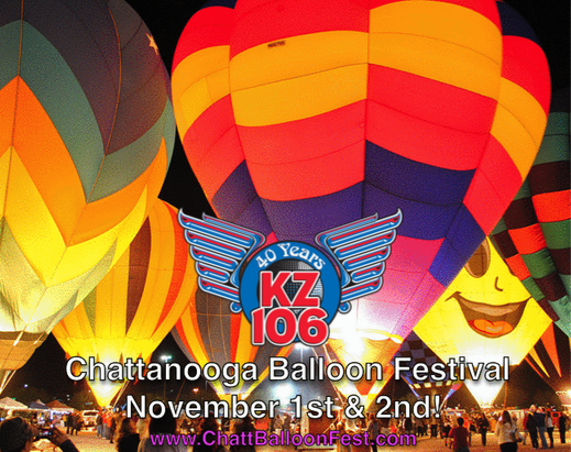 Chattanooga Balloon Festival on The Roadshow