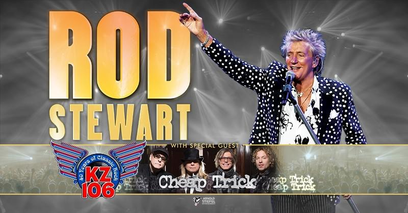 Rod Stewart, August 19th Nashville RESCHDULED
