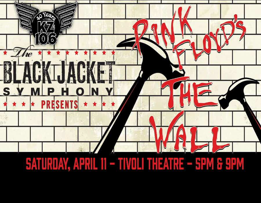 The Black Jacket Symphony, April 11th at The Tivoli