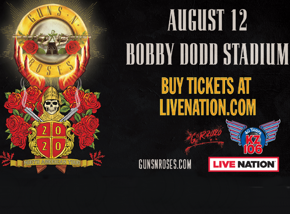 Guns 'N Roses, August 12th Atlanta
