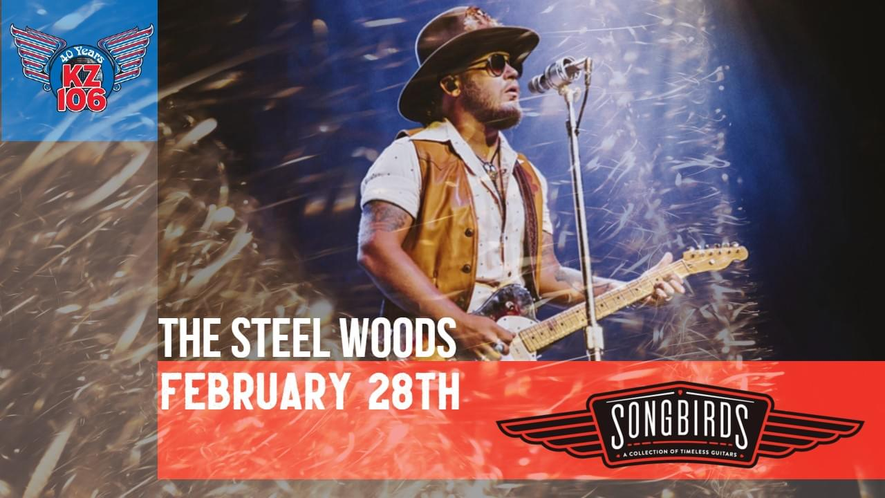The Steel Woods, February 28th @ Songbirds