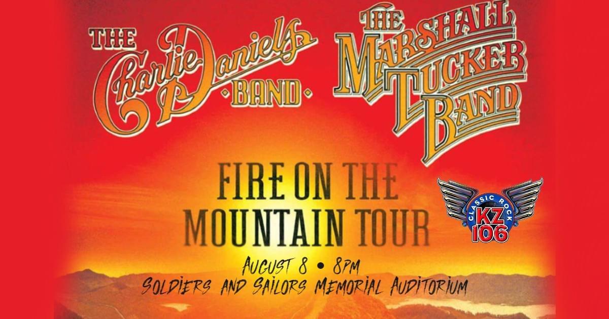 Charlie Daniels Band/Marshall Tucker Band, August 8th